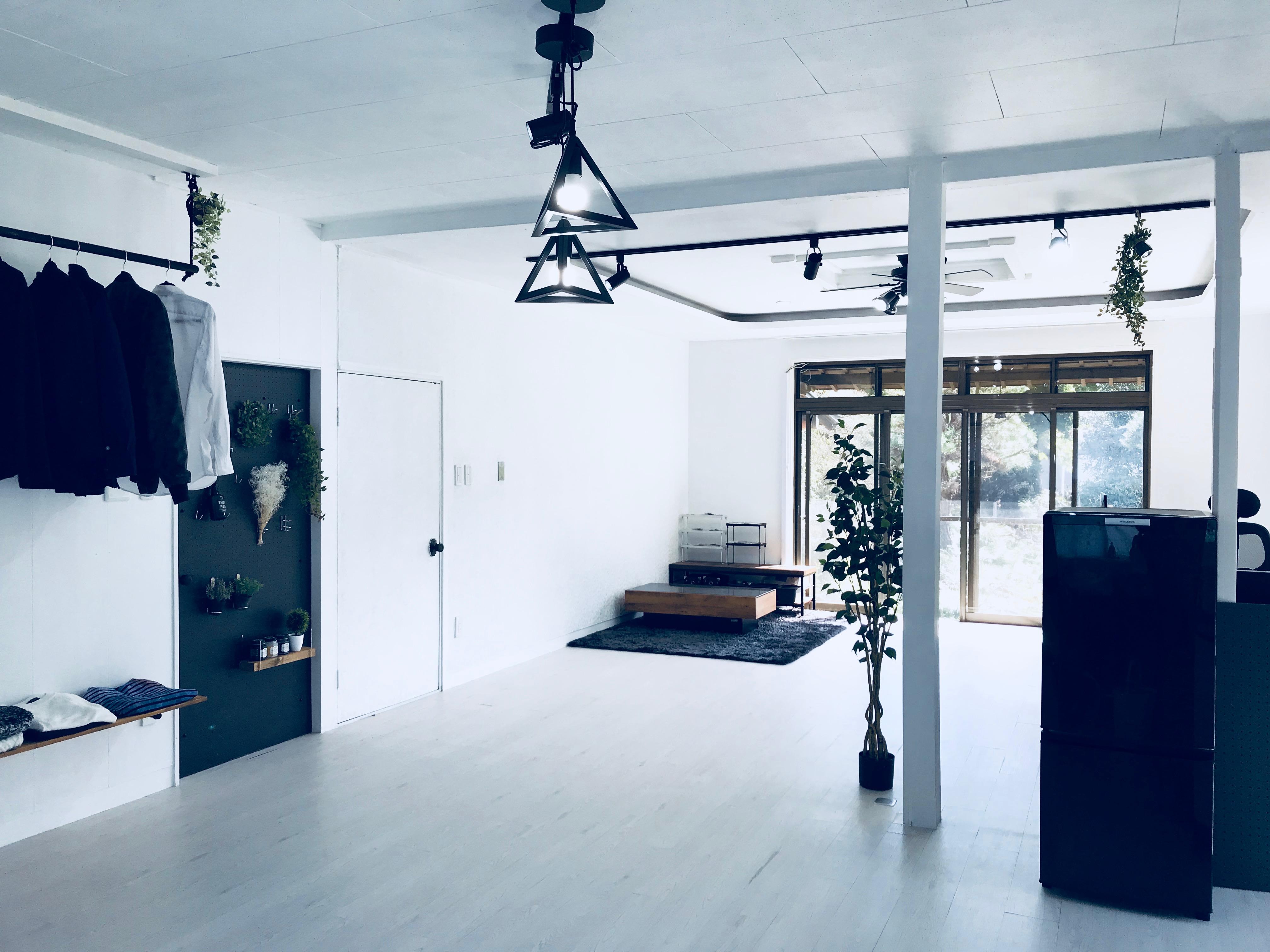 セルフリノベーションで完成した部屋